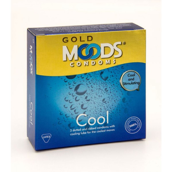 Moods Gold Cool 3's Condom