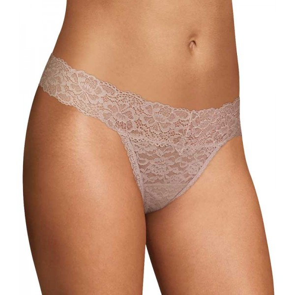 Candie's Skin Lace Thong