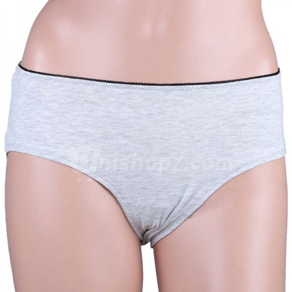 Gray Soft Cotton Panty