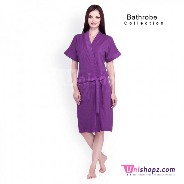 Purple Bathrobe for Women
