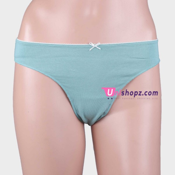 Green Cayan Cotton Thongs