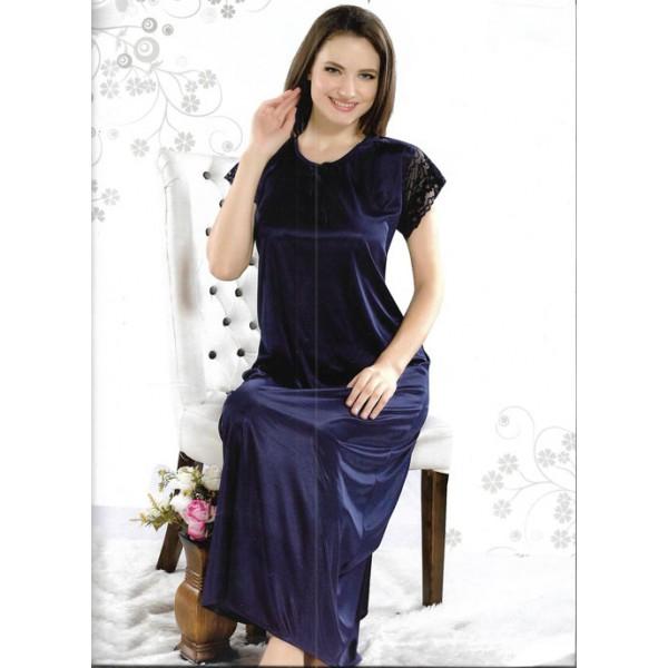 Dark Blue One Part Nightwear