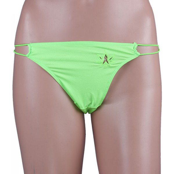 Radium Green Sexy Thong Panty