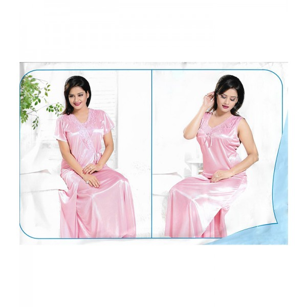 Princess Soft Pink 2 Part Nighty