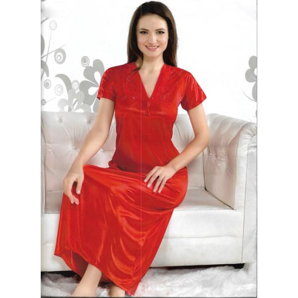 Sweet Red One Part Nightwear