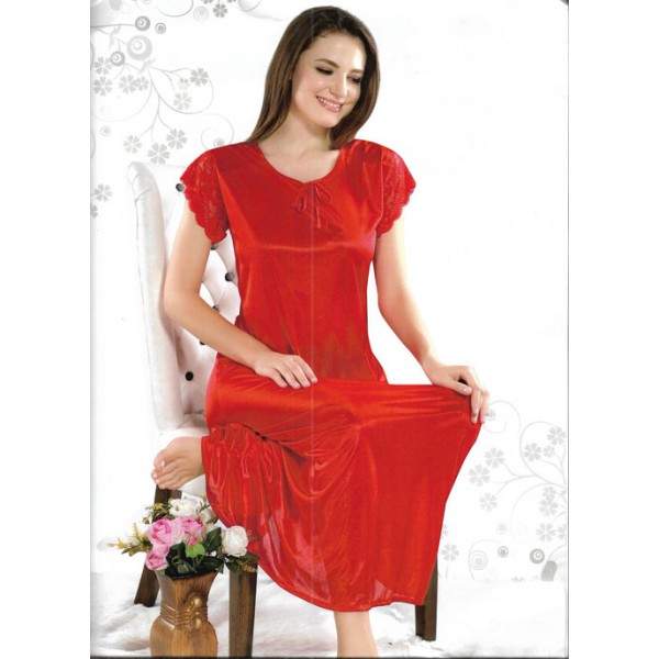 Sweet Red One Part Nightwear
