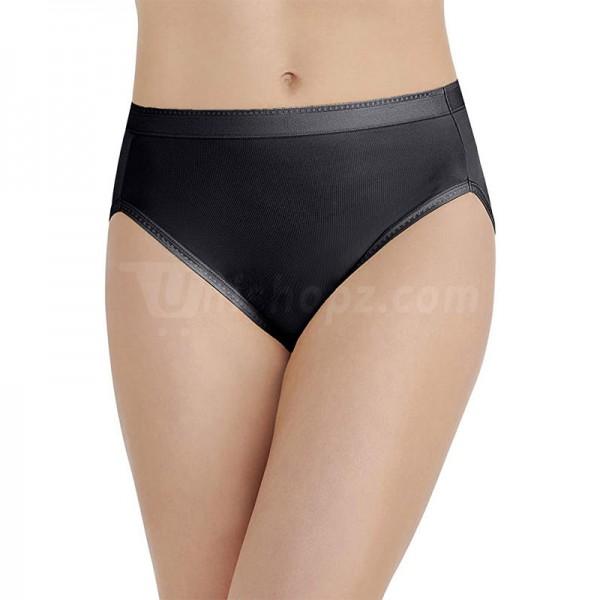 Super Premium Midnight Black Hi-Cut Panty
